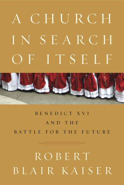 book cover - church in search
