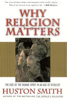 book cover why religionmatters