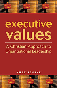 book cover executive values by kurt senske