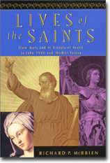 lives of the saints by richard mcbrien