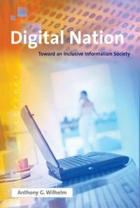 book - digital nation by Anthony Wilhelm