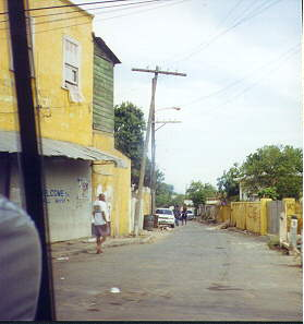 hannah town in kingston jamaica july 2001