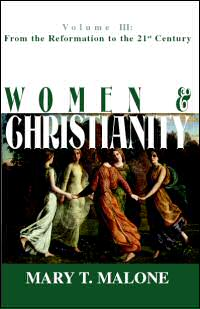 bookcover - women and christianity by Mary T Malone