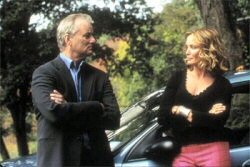 Bill Murray and Jessica Lange in Broken Flowers