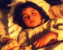 Little Thérèse Lisieux in the film Thérèse